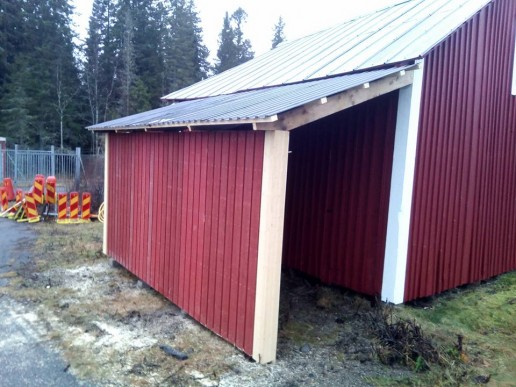 Nytt garage för vår Viking!